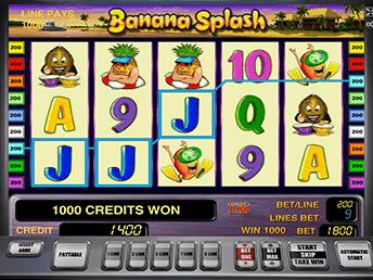 Игровой слот Banana Splash