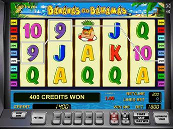 Онлайн слот Bananas Go Bahamas с бонусами