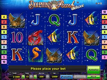 Онлайн слот Dolphin's Pearl Deluxe
