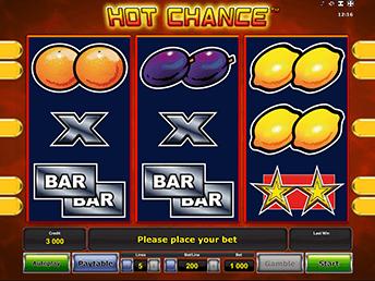 Игровой слот Hot Chance