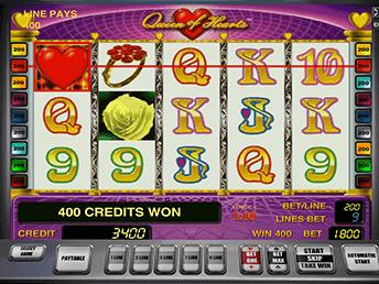 Онлайн слот Queen Оf Hearts