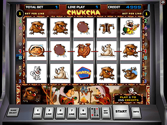 Онлайн слот Chukchi Man
