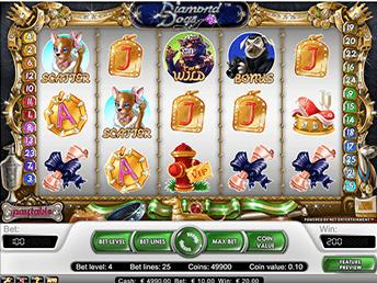 Игровой автомат Diamond Dogs