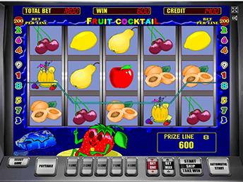 Онлайн слот Fruit Cocktail